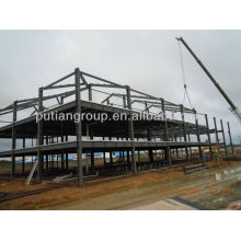pre-engineering steel structural building