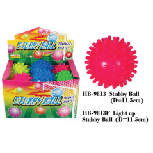 Juguete divertido de la bola del soplador de Stubby que destella
