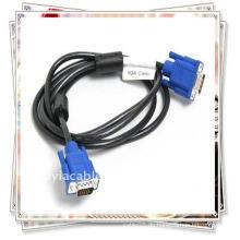 VGA-Stecker Zum männlichen Kabel Monitor M / M Verbindet PC oder Laptop mit dem Projektor, LCD-Monitor und anderen Video-Display-System