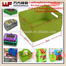 China OEM PP Plastic boxes/ plastic container molding/ plastic baskets injection mold