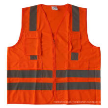 High-Visibility Safety Vest with Pocket