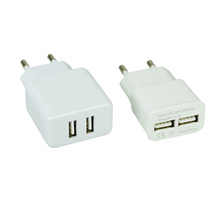 5V 2A usb phone charger with 2 usb