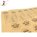 Waterproof+Eco-friendly Factory manufacture various adhesive label sticker
