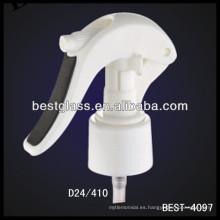 24/410 lociones corporales embotellan el mini disparador plástico, disparadores cosméticos del rociador de las botellas, rociador de la bomba del perfume