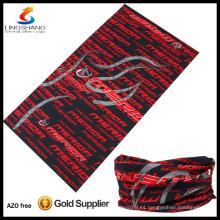 Venta al por mayor barata caliente 100% poliéster tubo de deporte al aire libre sin costura pañuelos personalizados al por mayor