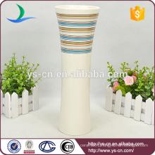 Customised Cheap Ceramic Flower Vase for Home Garden Decor