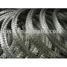 fil de rasoir en acier inoxydable