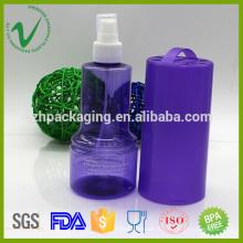 Bouteille en plastique liquide à usage unique avec pompe shenzhen fournisseur