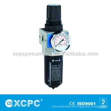 Luft-Quelle Behandlung Einheiten-XUW Seris & Filterregler-Air Vorbereitung Einheiten-Air Filterkombination
