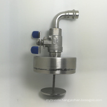 stamping welding bending spare parts Stainless steel filter SS inlet port