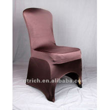 Chocolate brown colour,lycra chair cover CTS698,fancy and fantastic,cheap price but high quality