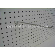 Melamina un lado impermeable mdf peg board