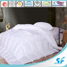 Ropa de cama de algodón blanco natural