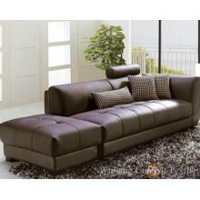 Tecido de poliéster imitação de couro de camurça para móveis