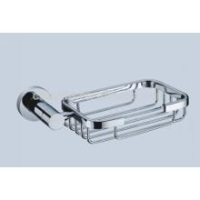 Beliebte Design Sanitärkeramik Chrom-Finish Edelstahl-Seifenkorb CX-050