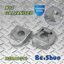 Pince de fixation M12 Fixation de boulon Galvanisé Collier de faisceau fermé Ba1g12