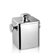Caja de hielo respetuosa del medio ambiente de alta calidad del acero inoxidable 304 / cubo de hielo del vino del cuadrado de la pared de Doubel