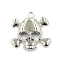 El collar de la aleación y el cráneo de la joyería de la llavero diseña el colgante de la bandera pirata de los encantos