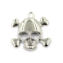 Alloy Necklace and Keychain Jewelry Skull Designs Charms Crossbones Pendant