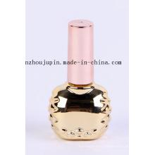 Bouteille en verre de vernis à ongles cosmétique de mode d'OEM