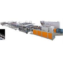 Nueva máquina de la protuberancia del tablero de espuma de WPC, máquina de extrusión compuesta plástica de madera para el material de construcción