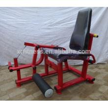 Equipo de gimnasia / Equipo de gimnasia / Extensión de pierna cargada con placa