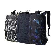 Reflective Animal Prints Luminous Ladies Casual School Backpacks for Women Computer
