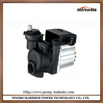 Horizontal circulating pump water heater booster