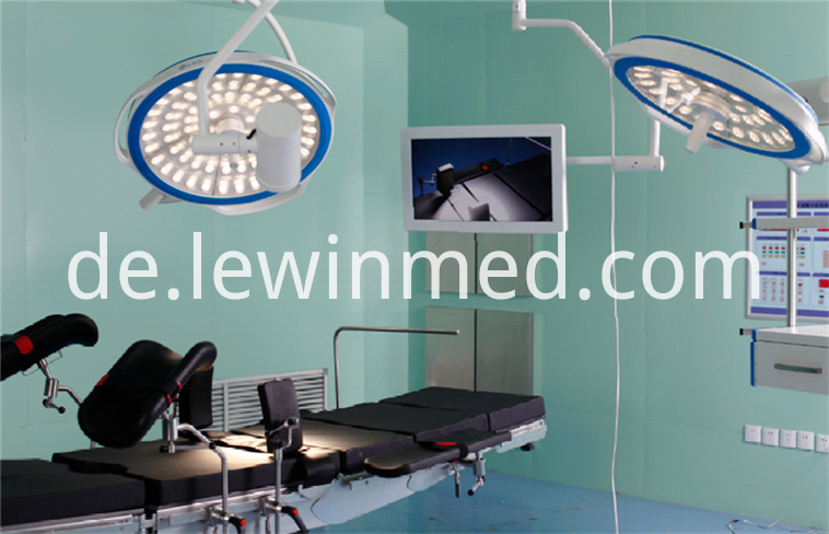 LED dual arm round operating light