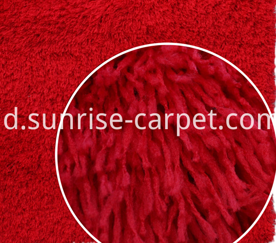 Polyester Imitation Sheep Skin Shaggy Rug