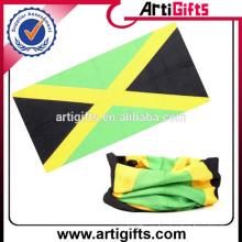 Pañuelo de la bandera del país logotipo personalizado