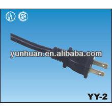 Vender o cabo eléctrico branco preto cinza