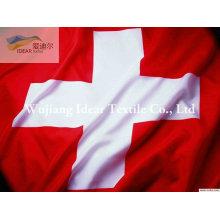 Banderas nacionales de 100% poliester/poliester impreso nacional bandera de diferentes países