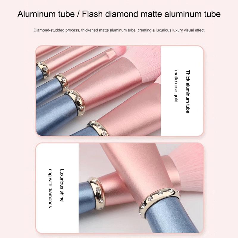5pcs diamond makeup brushes