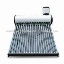 Acero galvanizado No-pressurized Vacuum Tube Calentador solar de agua