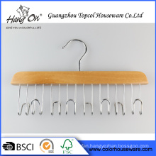 Deluxe wooden hanger for Tie/Belt