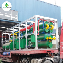 Waste Tyre Recycling to Oil Pyrolysis Machine