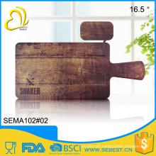 "popular high quality 16.5"" wooden chopping block"