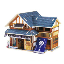 Holz Collectibles Spielzeug für Global Houses-Japan Tea House