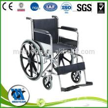 Steel lightweight disabled wheelchair