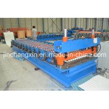 Профилегибочная машина для производства гофрированной плитки