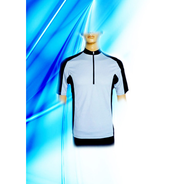 100% Polyester Man's Dyed Radfahren Jersey
