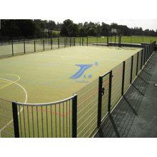 Спортивный наземный сварной забор