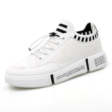 2020 Wholesale White Unisex Lace up Running Sport Shoes Breathable Canvas Casual Shoes