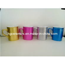 10oz Pearl Terminé Square Mugs