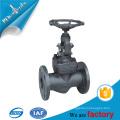 Válvula de globo de fuelle DIN válvula de fundición de acero forjado válvula de globo