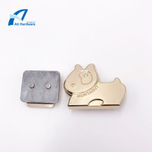 Zinc Alloy Pearl Handbag Lock  Hardware Accessories