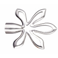 New Style Flower Metal Curtain Pole Finial