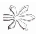 New Style fleur rideau en métal Pole Finial
