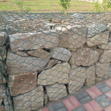 Hex Fabric Gabion Box Mesh